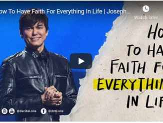 Pastor Joseph Prince Sermon - How To Have Faith For Everything In Life