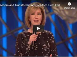 Pastor Lisa Osteen Comes Message - Freedom From Failure