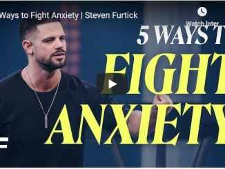 Pastor Steven Furtick Sermon - 5 Ways to Fight Anxiety