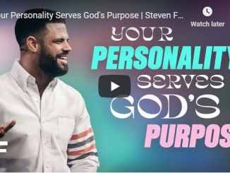 Pastor Steven Furtick Sermon - Your Personality Serves God's Purpose
