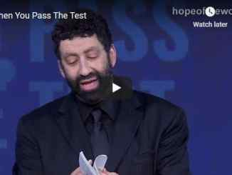 Rabbi Jonathan Cahn Sermon - When You Pass The Test