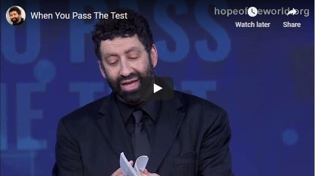Rabbi Jonathan Cahn Sermon - When You Pass The Test
