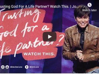 Pastor Joseph Prince Message - Trusting God For A Life Partner?