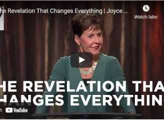 Joyce Meyer Message - The Revelation That Changes Everything