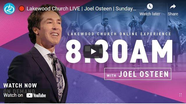 Lakewood Church Sunday Live Service February 28 2021