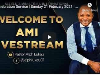 Pastor Alph Lukau Sunday Live Service February 21 2021
