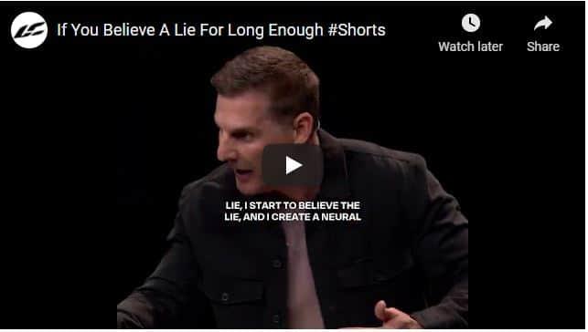Pastor Craig Groeschel Sermon - If You Believe A Lie For Long Enough