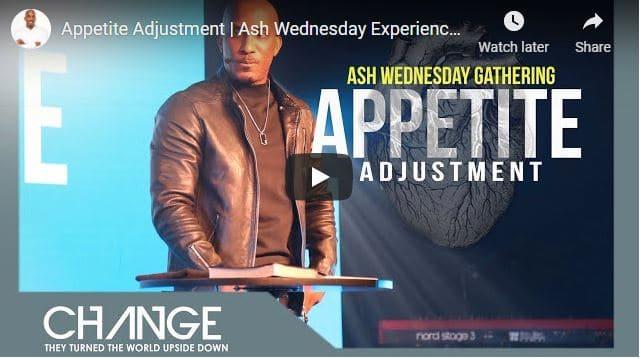Pastor Dharius Daniels Sermon - Appetite Adjustment
