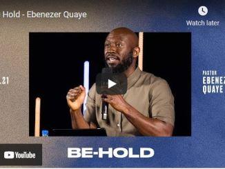 Pastor Ebenezer Quaye Sermon - Be Hold | The Potters House At One LA