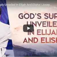 Pastor Joseph Prince - God's Supply Unveiled In Elijah And Elisha