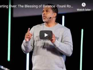 Pastor Touré Roberts Sermon - The Blessing of Balance