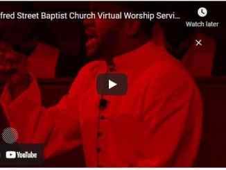 Alfred Street Baptist Church Sunday Live Service March 28 2021