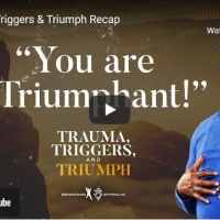 Bishop TD Jakes Message - Trauma, Triggers & Triumph Recap