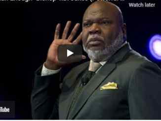 Bishop TD Jakes Sermon - The Value of Living a Restricted Life
