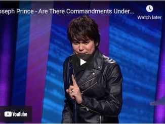 Joseph Prince Sermon - Are There Commandments Under Grace?
