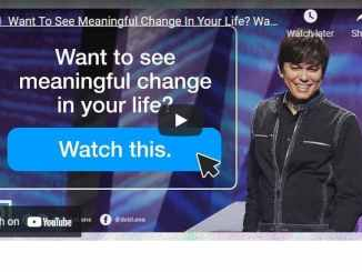 Joseph Prince - Want To See Meaningful Change In Your Life