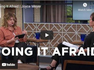 Joyce Meyer & Ginger Stache Message - Doing It Afraid
