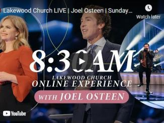 Lakewood Church Sunday Live Service March 28 2021