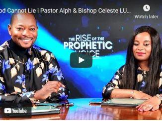 Pastor Alph & Celeste Lukau - God Cannot Lie