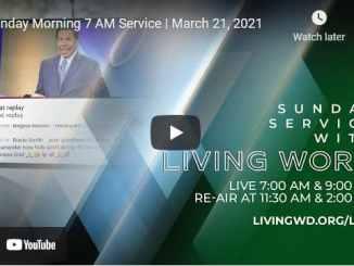 Pastor Bill Winston Sunday Live Service March 21 2021