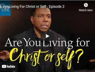 Pastor Creflo Dollar Sermon - Are You Living For Christ or Self