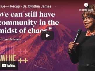 Pastor Cynthia James Message - Value++ Recap