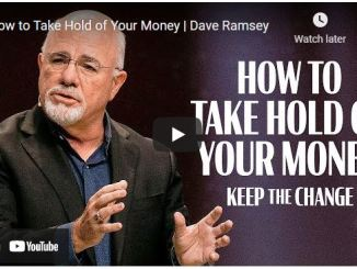 Pastor Dave Ramsey - How to Take Hold of Your Money