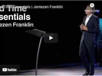Pastor Jentezen Franklin Sermon - End Time Essentials