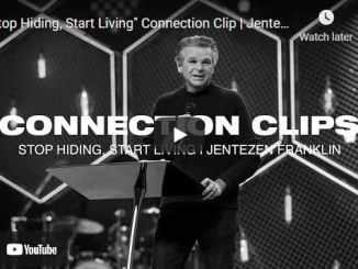 "Pastor Jentezen Franklin Sermon - ""Stop Hiding, Start Living"""
