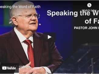 Pastor John Hagee Sermon - Speaking the Word of Faith