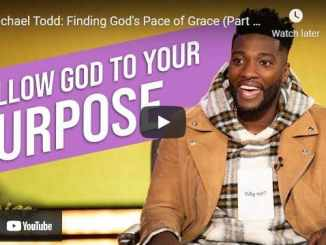 Pastor Michael Todd - Finding God's Pace of Grace