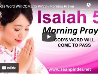 Pastor Sean Pinder Morning Prayer March 31 2021