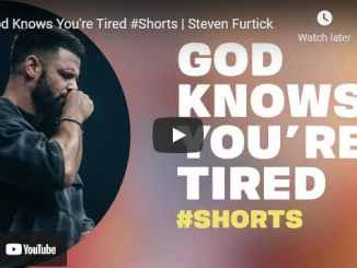 Pastor Steven Furtick Sermon - God Knows You're Tired