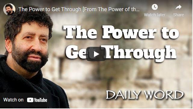 Rabbi Jonathan Cahn - The Power to Get Through