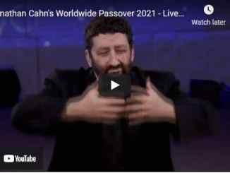 Rabbi Jonathan Cahn's Worldwide Passover 2021