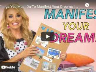 Terri Savelle Foy - 4 Things You Must Do To Manifest Your Dreams