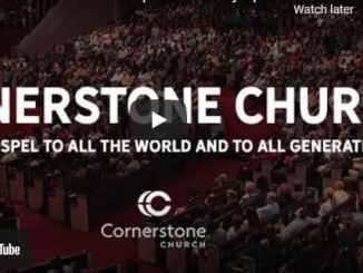 Cornerstone Church Sunday Live Service April 18 2021