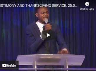 Dunamis Church Sunday Live Service April 25 2021
