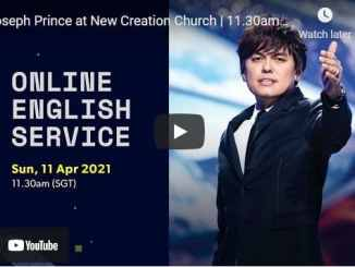 Joseph Prince at New Creation Church Sunday Service April 11 2021