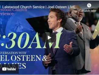 Lakewood Church Sunday Live Service April 25 2021