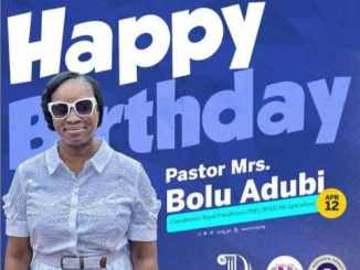 Pastor Adeboye Celebrates His Daughter Bolu Adubi On Her Birthday