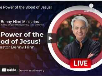 Pastor Benny Hinn - The Power of the Blood of Jesus