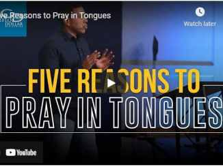 Pastor Creflo Dollar - Five Reasons to Pray in Tongues
