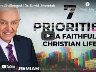 Pastor David Jeremiah Sunday Sermon April 25 2021