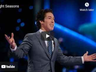Pastor Joel Osteen Sermon - Night Seasons