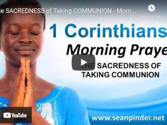 Pastor Sean Pinder Morning Prayer April 14 2021