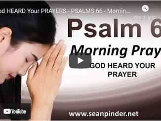 Pastor Sean Pinder Morning Prayer April 21 2021