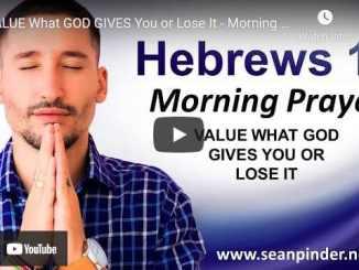 Pastor Sean Pinder Morning Prayer For April 16 2021