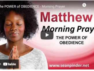 Pastor Sean Pinder Morning Prayer For April 17 2021
