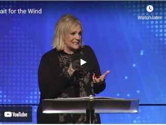 Pastor Sheryl Brady Sermon - Wait for the Wind